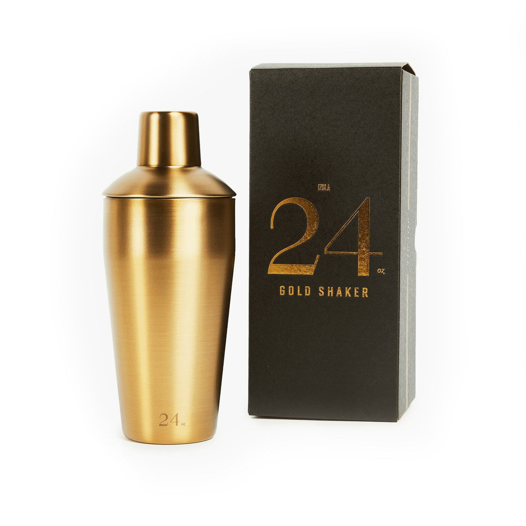 Gold 24 Oz. Cocktail Shaker