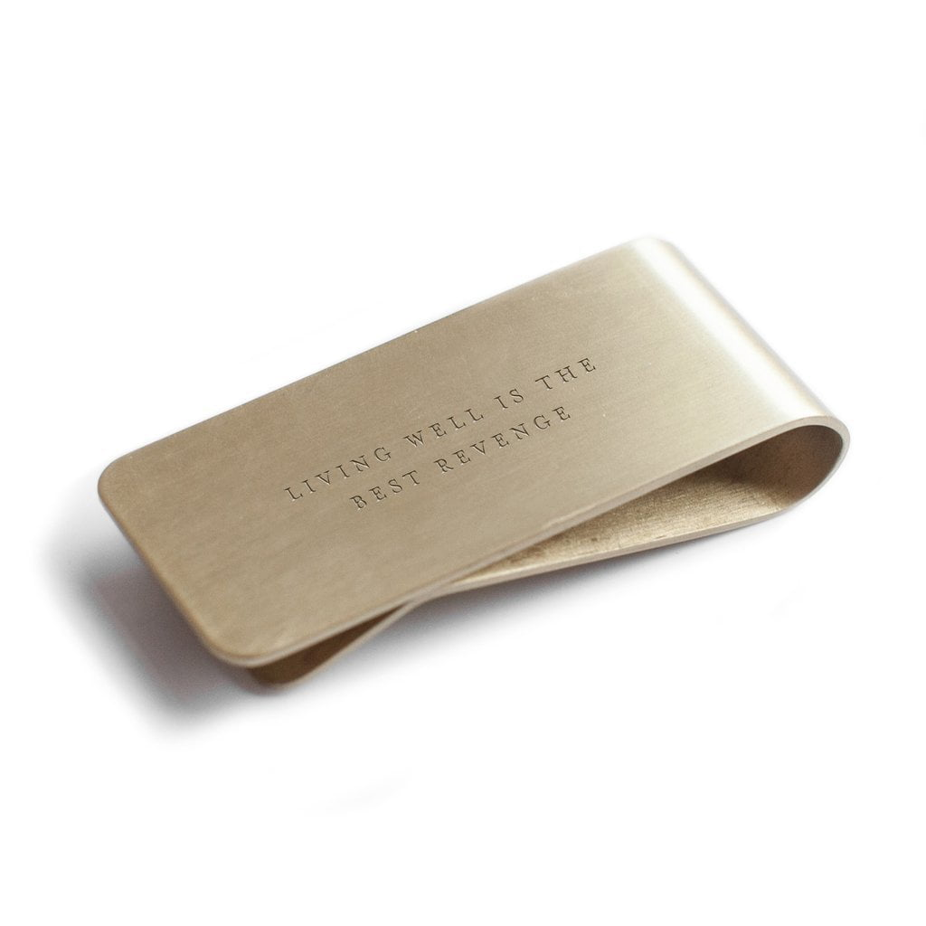Living Well Money Clip