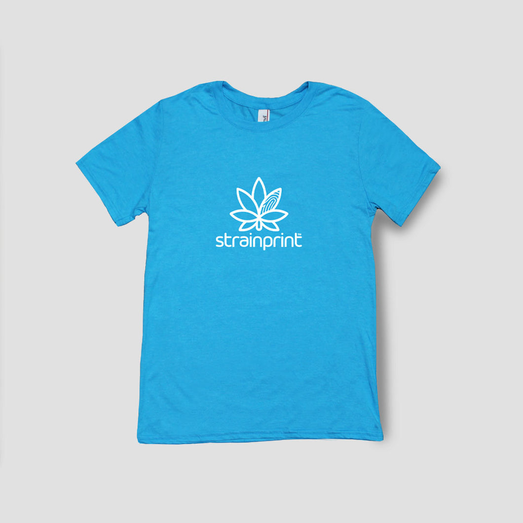 Teal Summer Strainprint Logo T Unisex *Free Shipping*