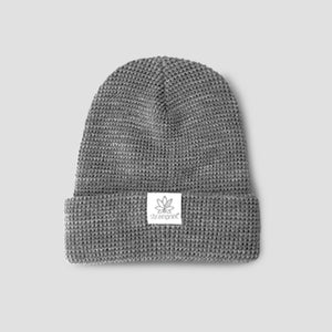 Heather Grey Waffle Toque