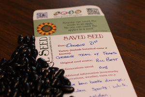 Sow True Seed believes in saving your own seed to build resilience against industrialized agriculture.