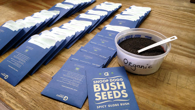 Custom Printed Seed Packets