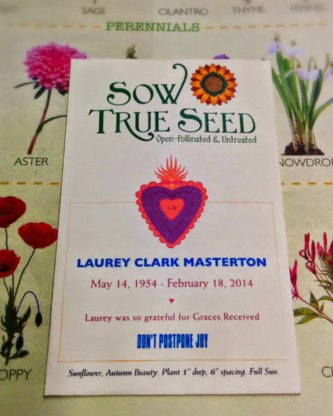 Sow True Seed offers custom seed packets for any event!