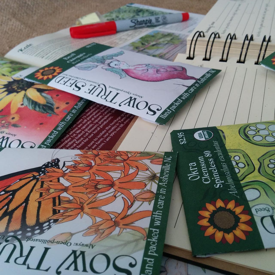 Our seed packet art work is some of the best and most beautiful garden art.