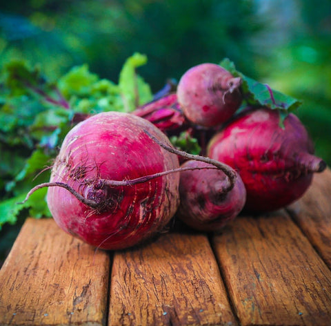 Red Beets are delicious!