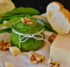 Pesto is easy to make!