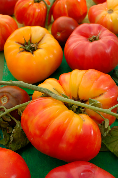 Heirlooms are open-pollinated seeds that have been around for a long time.