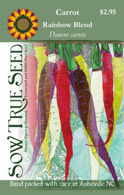 Carrot - Rainbow Blend - Sow True Seed