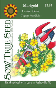 Marigold - Lemon Gem - Sow True Seed