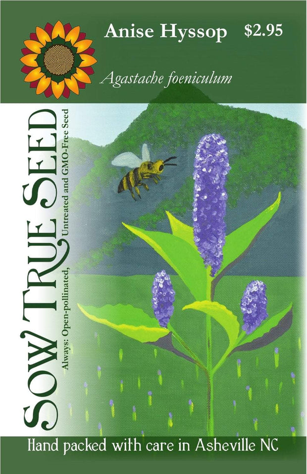 Herb - Anise Hyssop - Sow True Seed