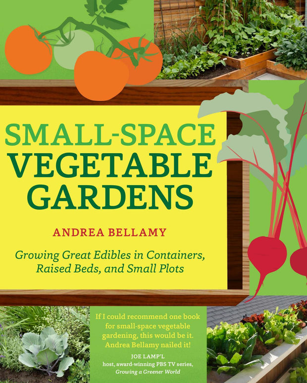 Books - Small-Space Vegetable Gardens - Sow True Seed