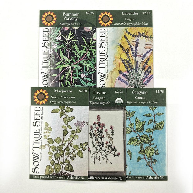 Collections - Herbes de Provence Garden - Sow True Seed