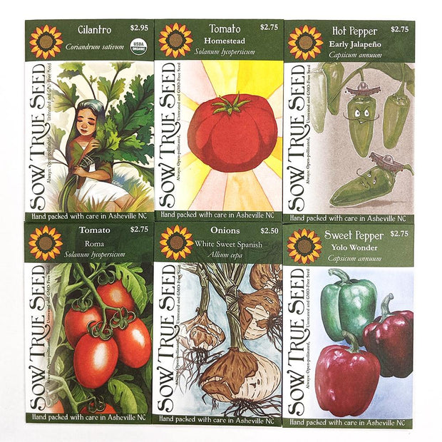Collections - Salsa Garden - Sow True Seed