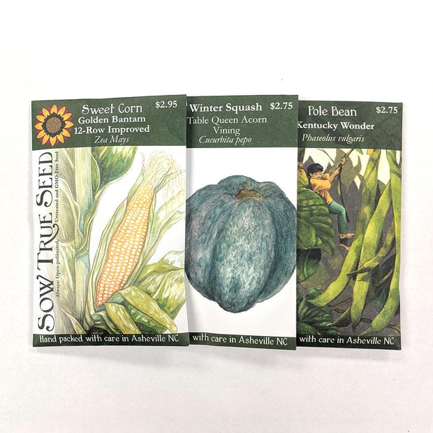 Collections - Three Sisters Garden - Sow True Seed