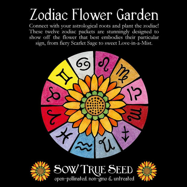Collections - Zodiac Flower Garden - Sow True Seed