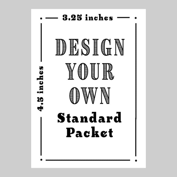 "Design Your Own - 3.25x4.5"" - Sow True Seed"