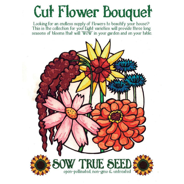 Collections - Cut Flower Bouquet Garden - Sow True Seed