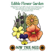 Collections - Edible Flower Garden - Sow True Seed