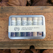 Appalachian Roots Sampler Collection is filled with 6 mountain inspired seasonings.