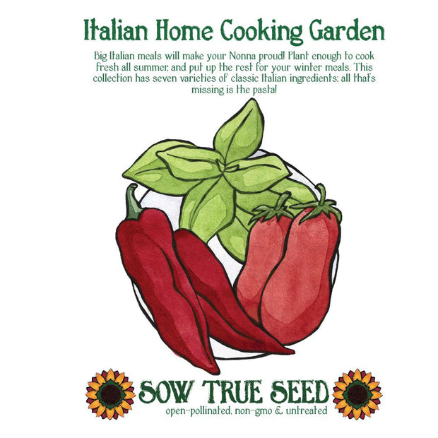 Collections - Italian Home Cooking Garden - Sow True Seed