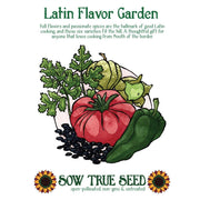 Collections - Latin Flavor Garden - Sow True Seed