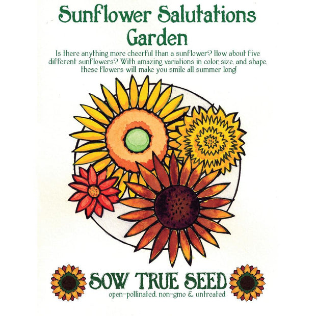 Collections - Sunflower Salutations Garden - Sow True Seed