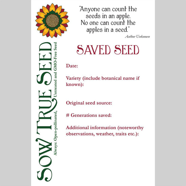 Gifts - Seed Saving Kit - Sow True Seed