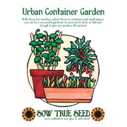 Collections - Urban Container Garden - Sow True Seed