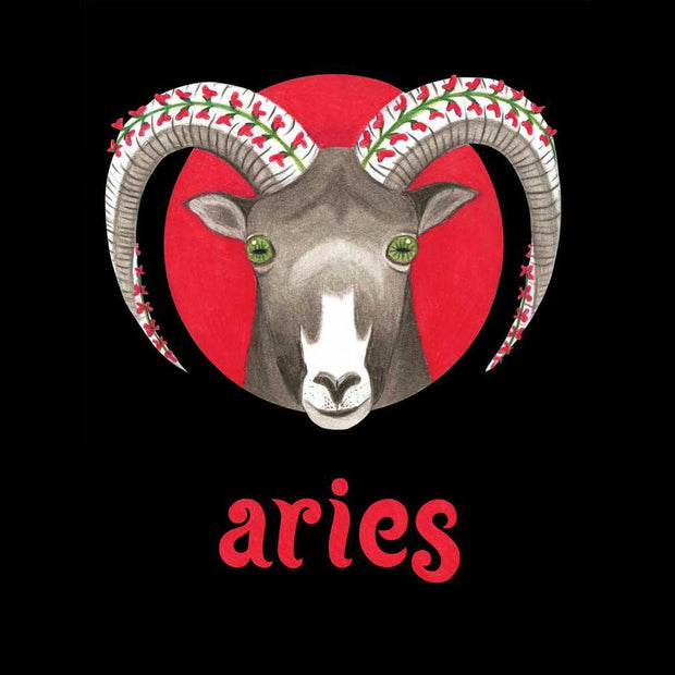 Aries Ram Zodiac Seed Packet