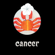 Cancer crab zodiac moonflower seed packet