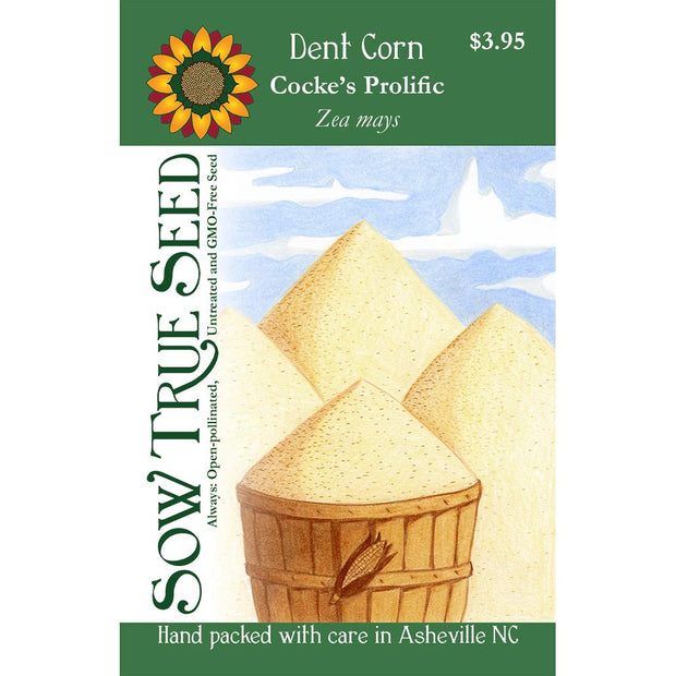 Dent Corn- Cocke's Prolific - Sow True Seed
