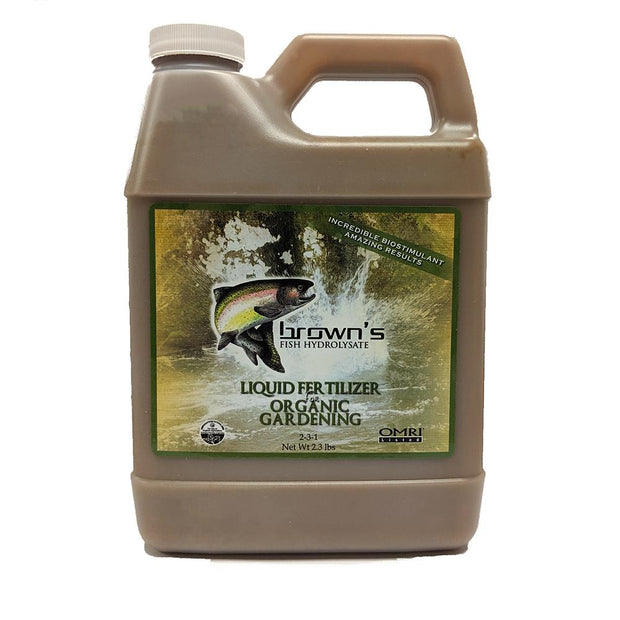 Soil Amendments - Browns Fish Fertilizer 1 QUART - Sow True Seed
