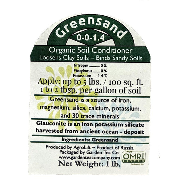Soil Amendment - Greensand, Organic - Sow True Seed