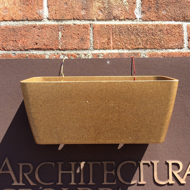 Accessories - Ecoforms - Pot - Wall Planter - Sow True Seed
