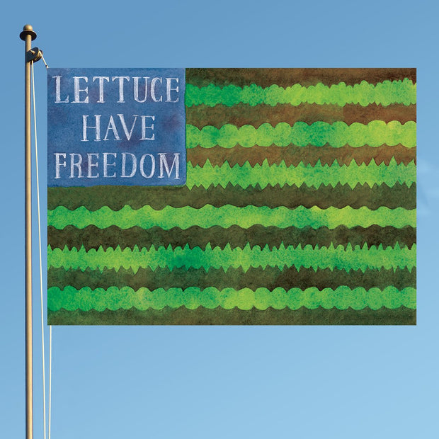 Lettuce Have Freedom - Limited Edition Seed Packet - Sow True Seed
