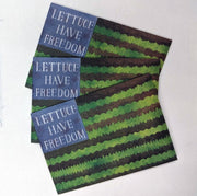 Lettuce Have Freedom - Limited Edition Seed Packet
