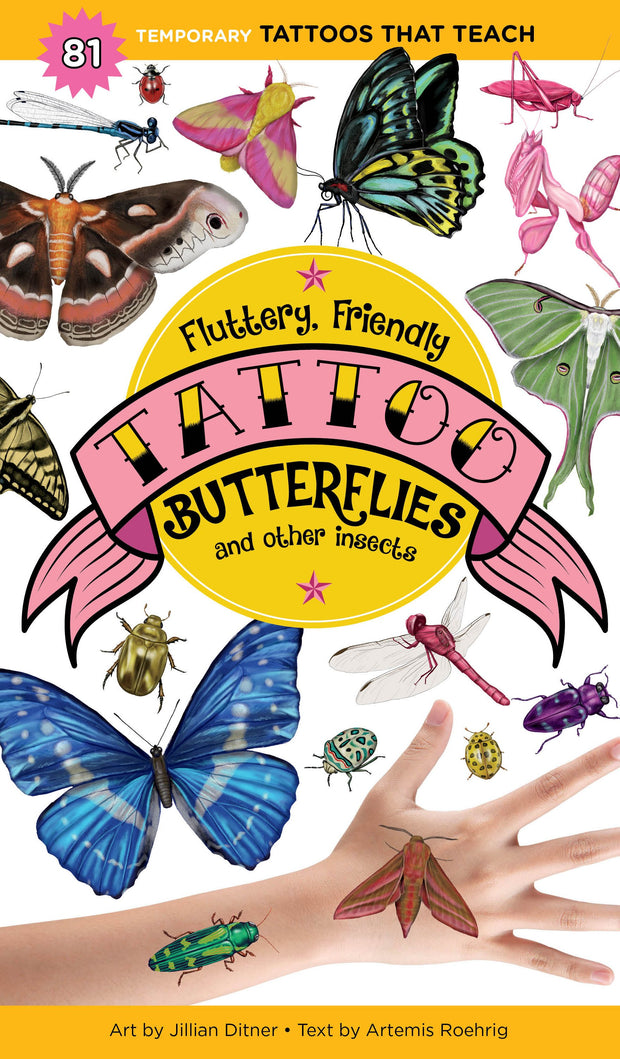 Books - Fluttery, Friendly Tattoo Butterflies and Other Insects - Sow True Seed