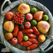 Organic Tomato seeds - Green Zebra : Our most popular green-when-ripe variety.