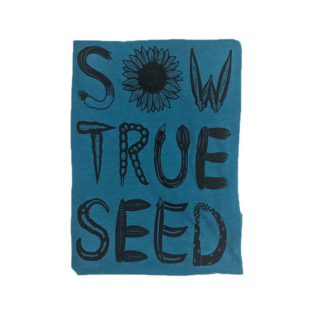 Gifts - Sow True Seed Women's Turquoise T-Shirt - Sow True Seed