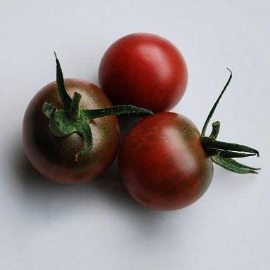 Cherry Tomato seeds - Black Cherry : Complex flavor of reddish-black fruits, indeterminate growth.