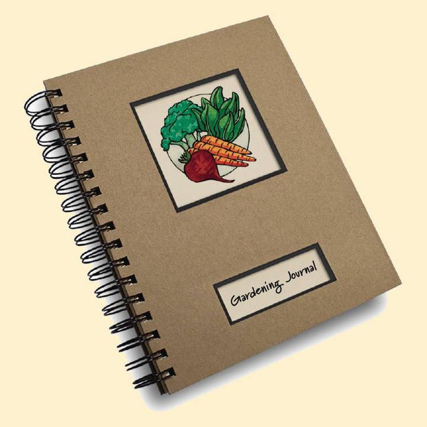 Books - Garden Journal Vegetable Style - Sow True Seed