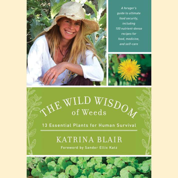 Books - The Wild Wisdom of Weeds - Sow True Seed