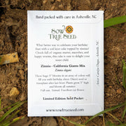 Happy Birthday - Limited Edition Seed Packet - Sow True Seed
