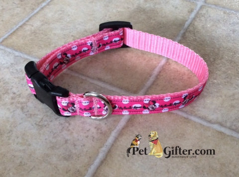 Small Collar - Minnie Mouse