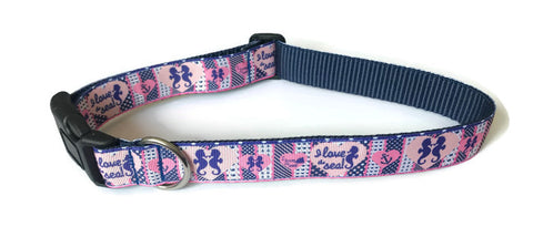 Dog Collar - Sea Horse