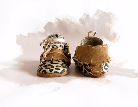 Leopard & Mocha Apache Low Tops