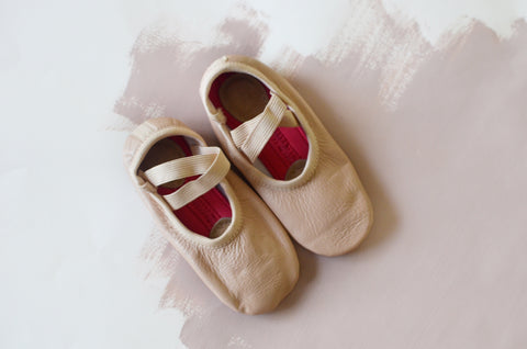 Pink Blush Ballet Shoes