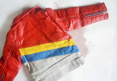 The Bowie Baby Leather Jacket