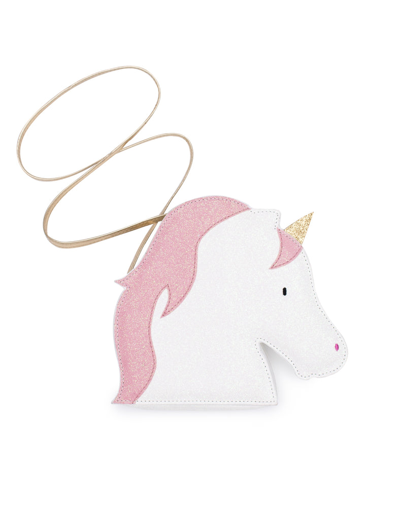 Billy Loves Audrey Unicorn Glitter Bag