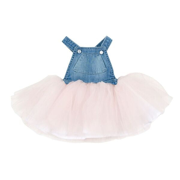 Tweet Denim Overall Dress